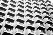 Free Apartment Block Stock Image - 90490671