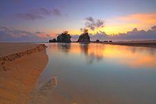 Free Sunrise At Beach Stock Photos - 90491433