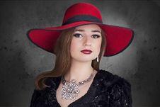 Free Beauty, Fashion Accessory, Hat, Headgear Royalty Free Stock Image - 90492196