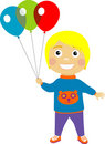 Free Boy With Balloons Stock Photos - 9053003