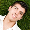 Free Smiling Young Man Stock Photography - 9059542