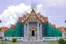 Free Church Repairing Royalty Free Stock Image - 9050906