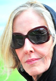 Free Mature Female Senior Stock Image - 9051001