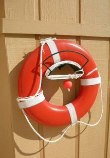 Free Life Preserver Stock Photography - 9052492