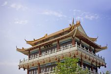 Free Chinese Building Royalty Free Stock Photos - 9052908