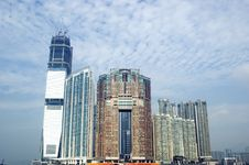 Free Hongkong - Building Complex Royalty Free Stock Photos - 9053728