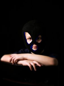 Free Masked Boy Stock Photos - 9053843