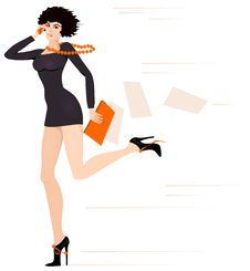 Free Businesswoman 2 Royalty Free Stock Photography - 9053947