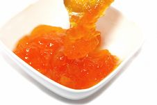 Free Apricot Marmalade Stock Photo - 9054670