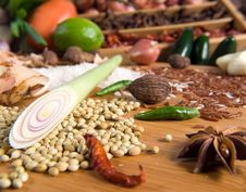 Free Fresh Herbs And Spices Stock Photography - 9054742