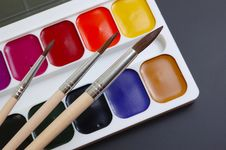 Free Palette Royalty Free Stock Image - 9054766