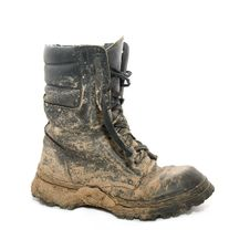 Dirty Boot Royalty Free Stock Images