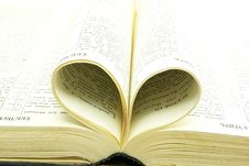 Free Opened Bible Stock Image - 9055721