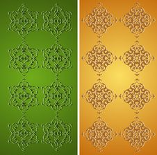 Traditional Ottoman Turkish Tile Illustration Royalty Free Stock Photography