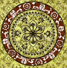 Free Grungy Ottoman Design Stock Image - 9055821
