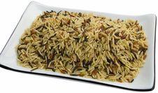 Long Rice Mixed Royalty Free Stock Photo