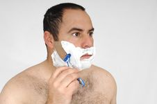 Free Man Shaving Stock Photos - 9056143