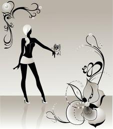 Free Black Silhouette Stock Image - 9056301