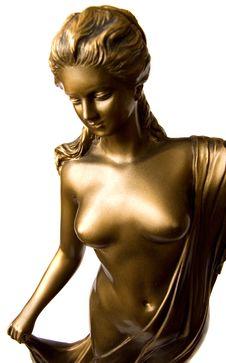 Bronze Lady Stock Photos