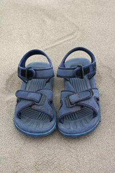 Free Beach Sandals Stock Image - 9057631