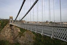 Free Clifton Suspension Bridge Stock Photo - 9057670