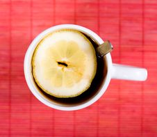 Free Cup With Black Tea Royalty Free Stock Photography - 9057807