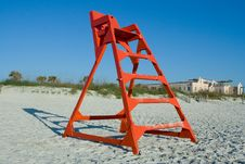 Free Life Guard Chair Stock Images - 9058334