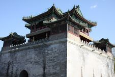 Free Chinese Style Castle Stock Photo - 9058370
