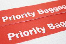 Free Label Priority Stock Photography - 9058372