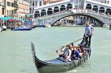 Free Grand Canal - Rialto - Venice Italy Venezia - Creative Commons By Gnuckx Stock Photography - 90552822