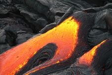 Free Lava Flow Royalty Free Stock Image - 90553486