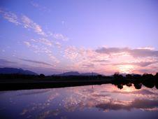 Free Lake At Sunset Royalty Free Stock Image - 90554426