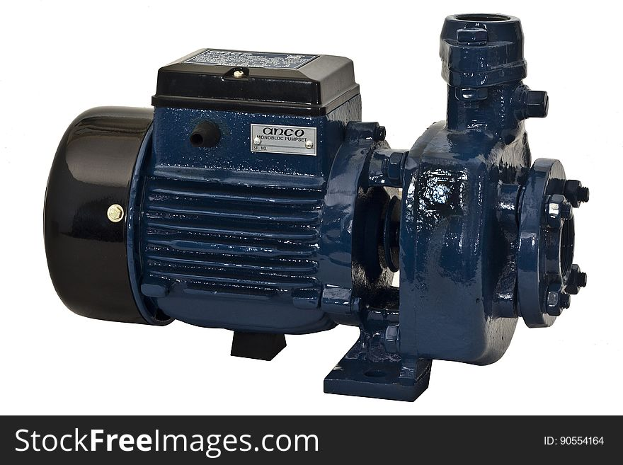 Electric motor and pump