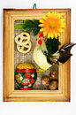 Free Old Russian Wooden Souvenir Royalty Free Stock Photos - 9063588