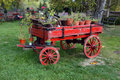 Free Old Horse Drawn Wagon Royalty Free Stock Image - 9064366