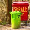 Free Urban Environment - Plastic Rubbish Bins Stock Images - 9066974
