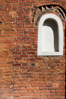 Free Red Brick Wall Royalty Free Stock Images - 9060099