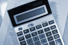 Free Calculator Royalty Free Stock Images - 9060289