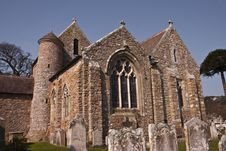 Beautiful Church On Jersey Royalty Free Stock Image