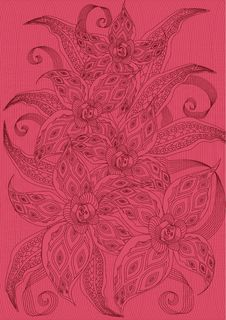 Free Pink Floral Background Royalty Free Stock Image - 9060426