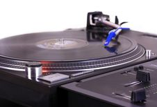 Free Turntable And Mixer Royalty Free Stock Photos - 9061028