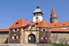 Free Stronghold Bouzov, Czech Royalty Free Stock Photo - 9061925