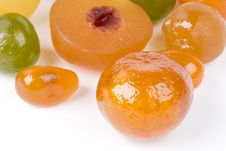 Free Coloured Candied Fruits Stock Image - 9062031