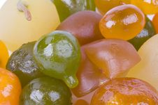 Free Coloured Candied Fruits Stock Photos - 9062093