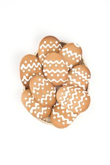 Free Gingerbread Cookies Royalty Free Stock Image - 9062246