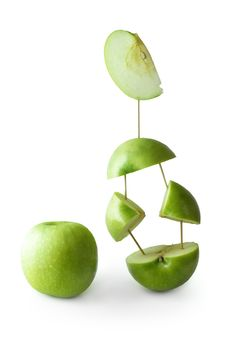 Free Green Apple Royalty Free Stock Image - 9062526