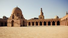 Mosque In Egypt Royalty Free Stock Image