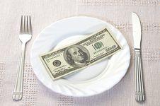 Free Fresh Financial Dish Royalty Free Stock Photo - 9063355