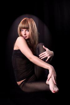 Free Lovely Yoga Girl Royalty Free Stock Image - 9063386