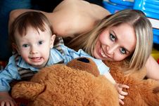 Free Mother And Son Stock Photography - 9063582